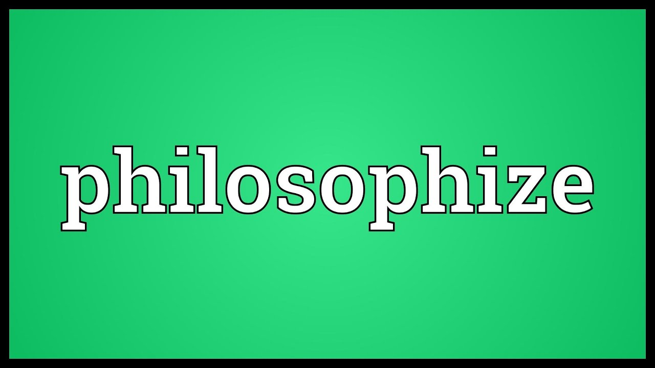 Why Should We Philosophize? – An Indian Viewpoint